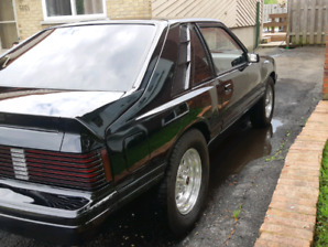 Mercury capri 1981  fox body