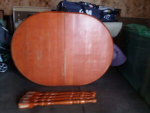 """Solid wooden table 48"""" x 36"""""""