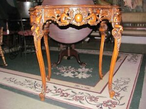 Carved Table very unique