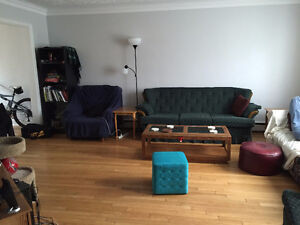 North End property with a spare room for rent until July!