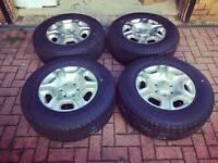 17 inch ford ranger tyres and alloys with lock in nuts
