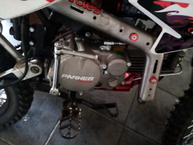 Pitbike yx160 parker racing
