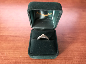 0.5CT Diamond Engagement Ring - White Gold - Mappins