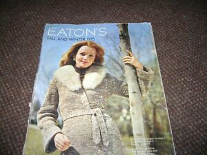 EATONS FALL & WINTER 1975 CATALOGUE