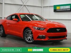 2015 Ford Mustang EcoBoost (cuir-caméra)
