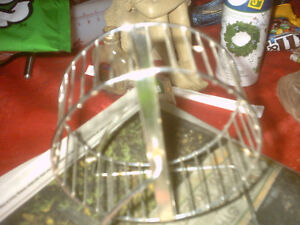 mice or rat hamster wheel /food dish /wooden house