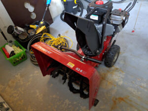 Murray 824ES Dual Stage Snow Thrower Electric Start