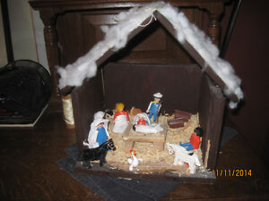 Playmobile nativity scene