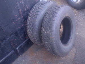 $50 for 2 winter tires