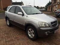 2004 Kia Sorento 2.5 CRDI manual