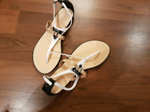 BCBG Opaque Jelly Sandals