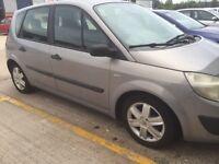 Renault scenic low miles bargain