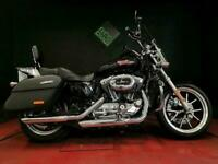 HARLEY-DAVIDSON XL1200T SUPERLOW SPORTSTER 19. 3224 MILES. LOADED WITH EXTRAS