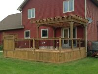 Decks, Gazebos and Pergolas (JT's Kustom Carpentry Inc.)