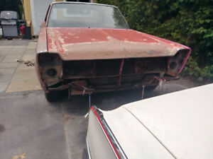 Échange Plymouth Fury projet 1966