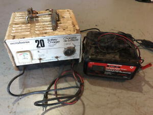 Motomaster Battery Chargers, Boosters