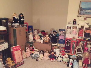 Estate Sale & Doll Collection