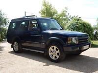 CHEAP CAR - 2004 04 LAND ROVER DISCOVERY 2.5 ES PREMIUM ES TD5 5D AUTO 136 BHP
