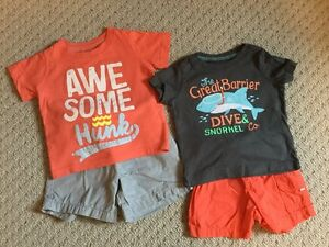 12 M Boys Summer Bundle