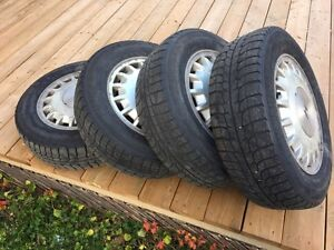 195/65/15 tires and rims for sale Kitchener / Waterloo Kitchener Area image 1