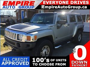 2006 HUMMER H3 4WD * POWER GROUP * SUNROOF * MINT CONDITION