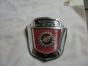BRAND NEW HOOD BADGE -53-56 FORD TRUCK