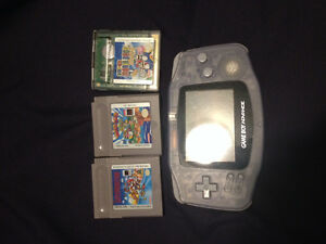Game boy advance and super Mario games Edmonton Edmonton Area image 1