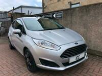 15 65 FORD FIESTA 1.5 TDCI STYLE EDITION DIESEL 3DR SILVER 1 OWNER £0 TAX A/C
