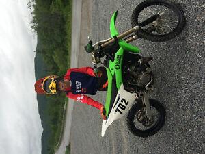 2014 KX 100 dirt bike