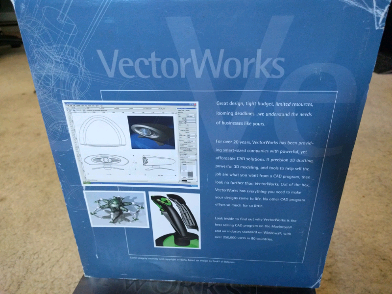 VectorWorks 11 Version software in good condition