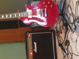 2016 epiphone les Paul standard RED