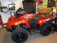 2015 ARCTIC CAT 400 CORE GEARED UP!!