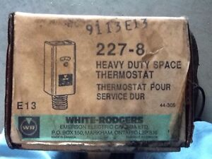 Heavy duty space thermostat Windsor Region Ontario image 1