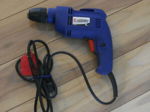 Drill Campbell Hausfeld 3/8 in excellent condition