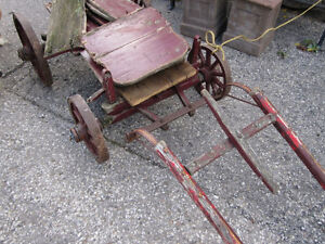 #greenspotantiques grain scale cart, old wagon wheel cart, Cadil Cambridge Kitchener Area image 5