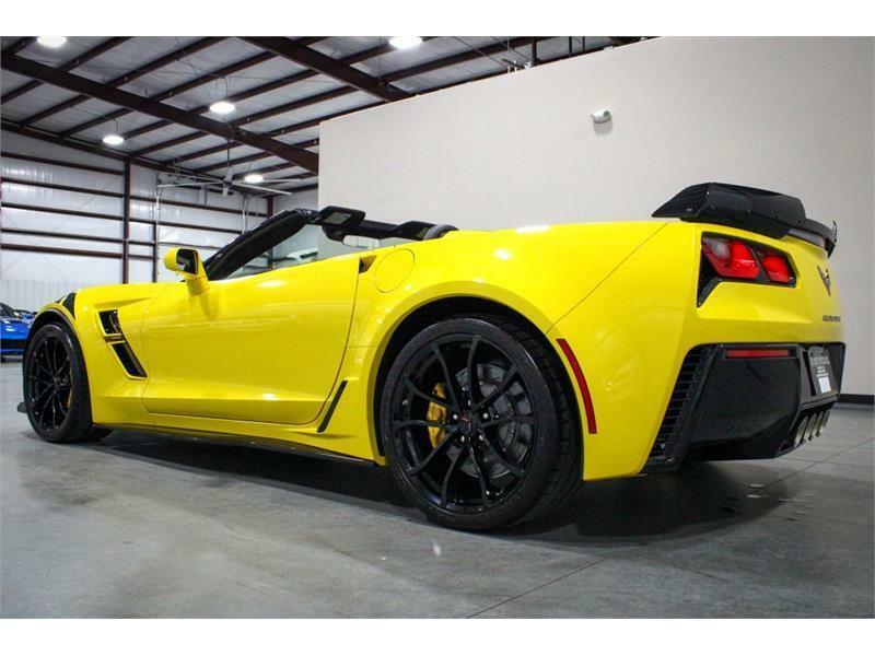 2019 Yellow Chevrolet Corvette Convertible 3LT | C7 Corvette Photo 3