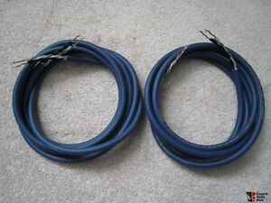 AudioQuest Type 4 Speaker Cable  * 2 x 15' legnths.