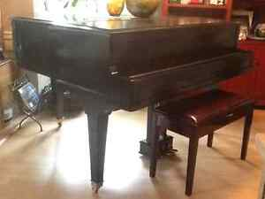 North American Grand and Benett Baby grand Piano