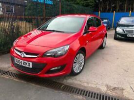 2014 ( 64Reg ) Vauxhall Astra Excite 1.4i VVT 16v ( 100ps ) Petrol , Manual,