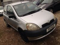 Toyota Yaris private plate 295 no offers
