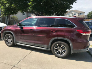 Toyota Highlander XLE 2019 Lease Take Over