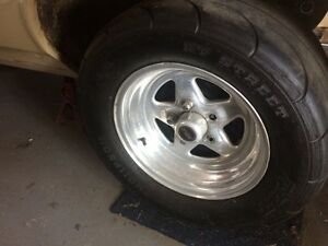 Weld prostars. With rubber