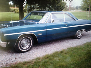 For Sale--1968 Plymouth Fury lll