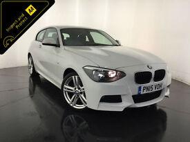 2015 BMW 118D M SPORT 3 DOOR HATCHBACK 143 BHP 1 OWNER BMW HISTORY FINANCE PX
