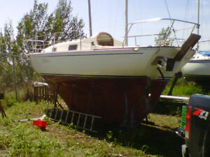 For Sale 1982 Fibreglass Contessa 26 Sailboat