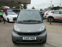 2010 smart fortwo PASSION Auto Coupe Petrol Automatic