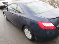 2006 Honda Civic, safety and e-test