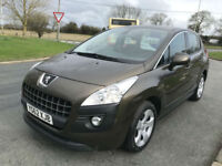 62 PEUGEOT 3008 1.6 HDI ACTIVE 29000 MILES FULL DEALER HISTORY