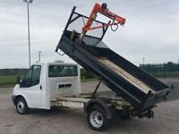 2011 Ford Transit 2.4TDCi ( 140PS) 6 Speed 350 MWB Tipper with Crane