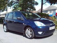 FORD FIESTA GHIA 2005 1.4 57000 MILES COMPLETE WITH M.O.T HPI CLEAR INC WARRANTY
